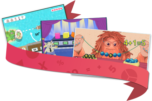 Matific online mathematics activities, games and worksheets for students in Grades K-6