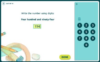 Matific online mathematics activities, worksheets and games for counting, numbers and addition